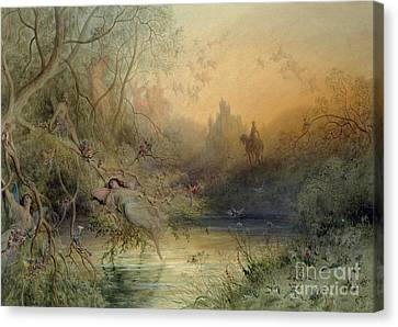 Fairy Land Canvas Print by Gustave Dore