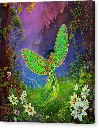 Fairy Princess Canvas Print by Steve Roberts