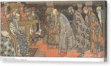Fairytale Of The Tsar Saltan Canvas Print by Celestial Images