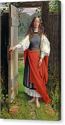 Faith Canvas Print by George Dunlop Leslie