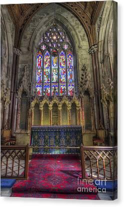 Faith In God Canvas Print by Ian Mitchell