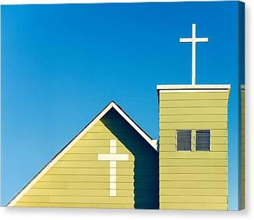 Faithfully Simple Canvas Print by Todd Klassy