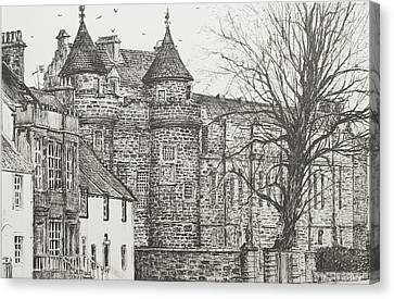 Falkland Palace Canvas Print by Vincent Alexander Booth