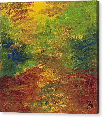 Fall Impressions Canvas Print by Patty Vicknair