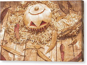 Fall Of Halloween Canvas Print by Jorgo Photography - Wall Art Gallery