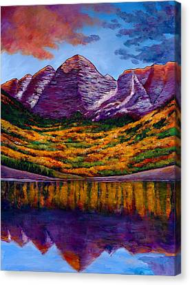 Fall Symphony Canvas Print by Johnathan Harris