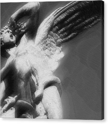 Fallen Angel Canvas Print by Tony Rubino