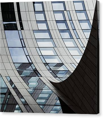 Falling Lines Canvas Print by Gerard Jonkman