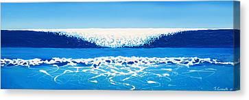 Falling Sea Canvas Print by Jaison Cianelli