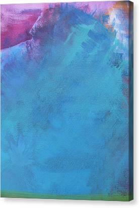 Faraway Mountain Canvas Print by Lindie Racz
