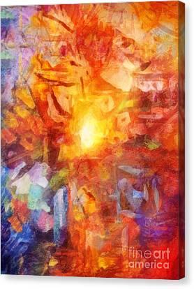 Farbenlicht Canvas Print by Lutz Baar