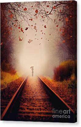 Farewell Canvas Print by Svetlana Sewell