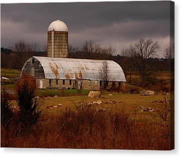 Farm Along The Appalachian Trail Canvas Print by Raymond Salani III