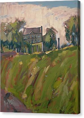 Farm Estate Zonneberg Canvas Print by Nop Briex