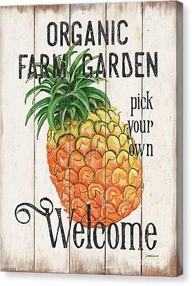 Farm Garden 1 Canvas Print by Debbie DeWitt