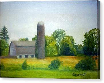 Farm In The Pine Barrens  Canvas Print by Sheila Mashaw