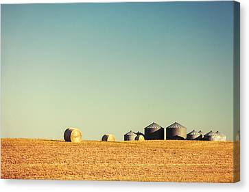Farm Land Canvas Print by Todd Klassy