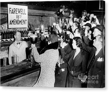 Farwell 18th Amendment Canvas Print by Jon Neidert