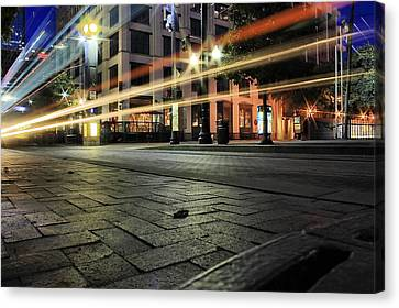 Fast Speed Canvas Print by Gulf Island Photography and Images