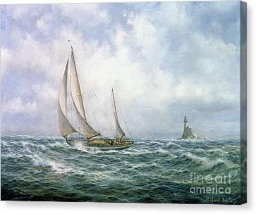 Fastnet Abeam Canvas Print by Richard Willis