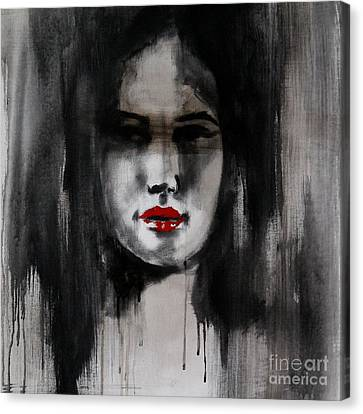 Fatal Allure Canvas Print by Jindra Noewi