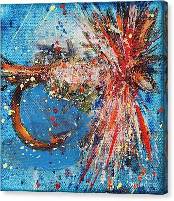 Favorite Flies 2 Canvas Print by Jodi Monahan