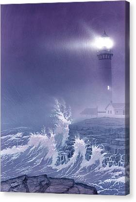Fearless - Psalm 27 Canvas Print by Cliff Hawley