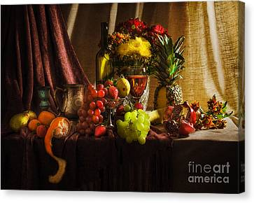 Feast Canvas Print by Svetlana Sewell