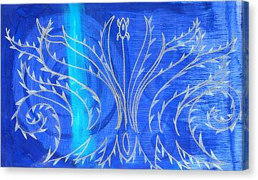 Feathers Canvas Print by Nina Bravo