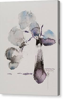 February Canvas Print by Becky Kim