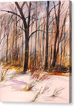 February Canvas Print by John  Williams
