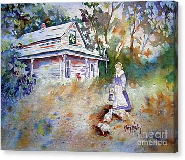 Feeding Time Canvas Print by Mary Haley-Rocks