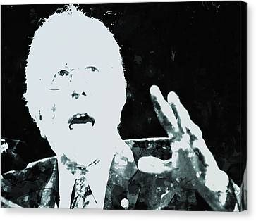 Feel The Bern Canvas Print by Brian Reaves