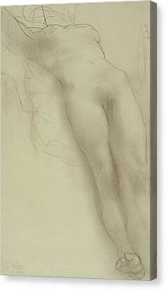 Female Torso Canvas Print by Auguste Rodin