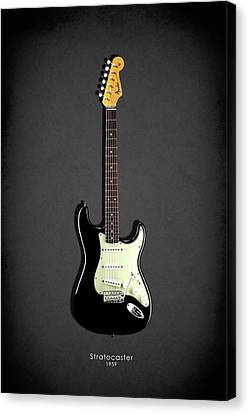 Fender Stratocaster 59 Canvas Print by Mark Rogan