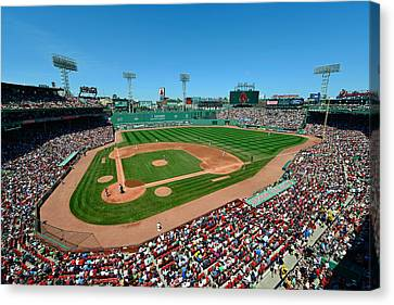 Fenway Park - Boston Red Sox Canvas Print by Mark Whitt
