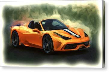 Ferrari 1a Canvas Print by Brian Reaves