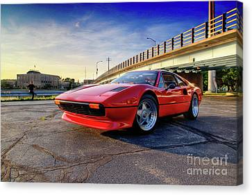 Ferrari 308 Canvas Print by Joel Witmeyer