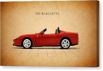 Ferrari 550 Barchetta Canvas Print by Mark Rogan
