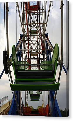 Ferris Wheel Canvas Print by Anne Babineau