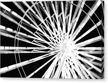 Ferris Wheel Canvas Print by Lynda Dawson-Youngclaus