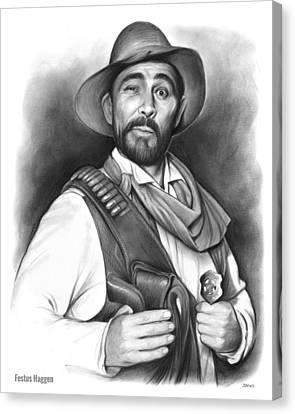 Festus Haggen Canvas Print by Greg Joens