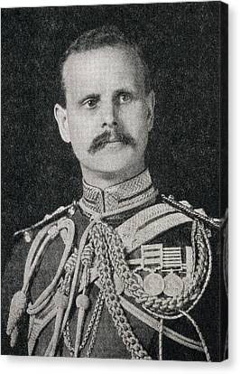 Field Marshal William Riddell Birdwood Canvas Print by Vintage Design Pics