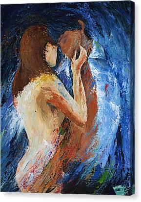 Fierce Canvas Print by Ash Hussein