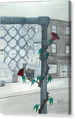 Finding Beauty Canvas Print by Robert Meszaros