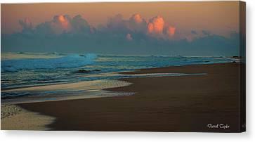 Fine Art America Pic 126 Kauai Sunrise Canvas Print by Darrell Taylor