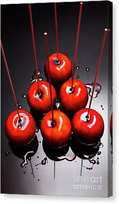 Fine Art Toffee Apple Dessert Canvas Print by Jorgo Photography - Wall Art Gallery