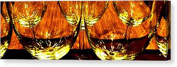 Fine Wine And Dine 3 Canvas Print by Will Borden