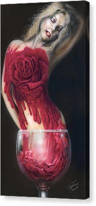 Fine Wine Canvas Print by Wayne Pruse