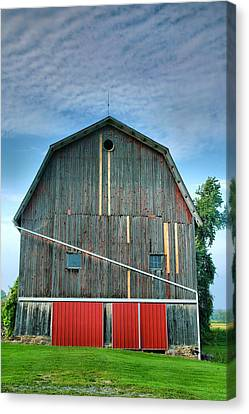 Finger Lakes Barn Iv Canvas Print by Steven Ainsworth